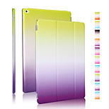 Good quality PU leather rainbow gradient holster for iPad 4/3/2