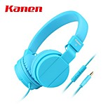 New Arrival Studio Minions Kanen IP-950 3.5mm Gold Plating Plug HiFi Stereo On-ear Headset Earphone