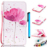 Coloured Drawing or Pattern PU Leather Mobile Holster Including Anti-dust Plug stylus for Samsung GALAXY CORE Prime G360