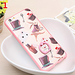 Delicious Food Dessert Candy Pink Color Dessert Ring Buckle Cases for iPhone6/iPhone 6s