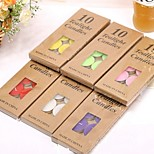 Romantic 10Pcs Wide Scented Tealights Party Wedding Tea Light Candles