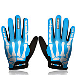 Anti-slip Wearproof Shockproof Outdoor Men Women MTB Mountain Bike Cycling Gloves Full-finger
