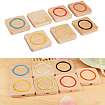 Qi Wireless Charger Wood Pad for Galaxy S5 S4 Note 4 3 Nexus / Nokia / iPhone