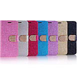 Fashionable Bright Flash Powder Design PU Case for iPhone5/5S (Assorted Color)