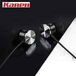 Kanen IP-609 High Performance In Ear Headphones Earphones with Remote Control Button and MIC For iPhone Samsung
