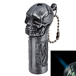 6225 Classic Inflatable Windproof Lighters Crossbones Skulls Type Copper, Gray