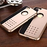 The New Divine PU Leather Armor Breathing Hole Mask Combo Touch Phone Case for iPhone 6 /6S (Assorted Colors)