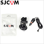 Car Charger Mount + Suction cup Bracket For SJ5000/SJ5000 WiFi Action Camera