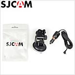 carregador de carro montagem de sucção + suporte de copo para sj5000 / sj5000 câmera de ação wi-fi