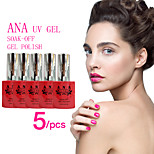 (Choose 5)5 PCS ANA Nail UV 12ml 200 Fashion Color Long-lasting LED Gel Polish Top Fashion