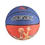 joerex 7 # basquete de borracha azul / vermelho azul / amarelo interior&basquete ao ar livre