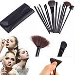 12PCS Makeup Brushes Set Cosmetics Synthetic Kabuki Make up Brush Blending Blush Eyeliner Face Powder Makeup Brush Kit