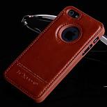 la nueva simplicidad de lujo Palillos caja del teléfono celular para el iphone 5 / 5s (colores surtidos)