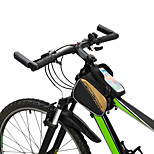 Bicycle Frame Pannier Saddle Front Top Tube Double Bag Cycling Pouch Touchable for 6.0