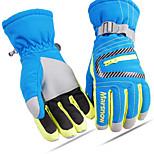Family Set Waterproof Skiing Gloves Women Snowboard Keep Warm Gloves Men Snowboarding Gloves 6-14 Years Boy Girls 808