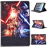 Star Wars Coloured Drawing or Pattern Holster PU Leather Folio Case for iPad Mini 4