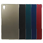 Plating Metal Surface Design PC Stiff Case for Sony Xperia Z3(Assorted Color)