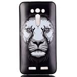 lion Pattern TPU Phone Case for Zenfone 2 Laser ze550KL