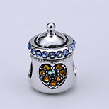 Pand with Sterling Silver Bead S925 Bracelet Necklace Bead  for European Charm Silver Bracelets Baby