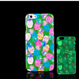 Pineapple Pattern Glow in the Dark Hard Plastic Back Cover for iPhone 6 for iPhone 6s Case