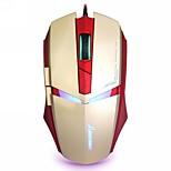 Sunsonny USB Wired 1600 DPI Adjustable LED Cool Gaming Mouse