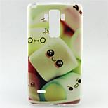 Cotton Candy Pattern TPU Soft Case for LG G4 Stylus