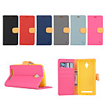 Yi Cai Card Holder Leather Belt Around Open for Asus ZC500TG(Assorted Colors)