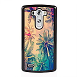 Coconut Tree Design Metal Hard Case for LG L90/ G3/ G4