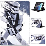 Star Wars Coloured Drawing or Pattern Holster PU Leather Folio Case for iPad Air