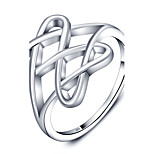 Fashion Double Heart Party Accessories 925-Sterling-Silver Rings For Women&Lady