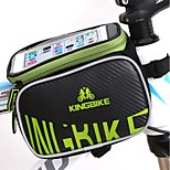Detachable Waterproof Touch Screen Outdoor Cycling Mountain Bike Bicycle Mobile Phone Case Bag Frame Front Tube Bag
