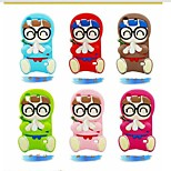 Arale fumetto del silicone di caso per iphone4 / 4s (colori assortiti)