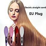 pente reta elétrica cabelos lisos eu plugue