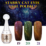 1PCS KOUYI Starry Cat Eyes Color Gel 12ml 24Colors Long Lasting Nail Polish 19-21 And That is Better