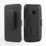 2 in 1 design case Hard Plastic Skin+Soft Outer Silicone Case for Nokia Lumia 530(Assorted Colors)