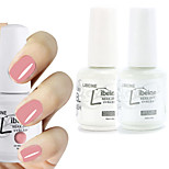 LIBEINE 1set(Color 009 + Base Coat+ Top Coat) 3PCs Soak Off 15 ML UV Gel Nail Polish Color Gel Polish