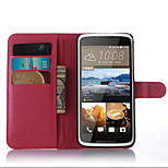The Embossed Card Support Protective Cover For HTC 828 Mobile Phone