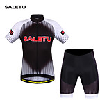 SALETU  Cycling Clothing /Cycling Wear/ Cycling Jersey Short Sleeve Suite