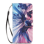 Phantom Pattern PU Leather Full Body Case with Stand for iPhone 6S