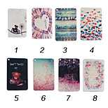 7.9 Inch TPU Soft Case Back Cover for iPad Mini 4(Assorted Colors)
