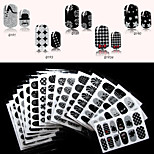 - Finger - 3D Nails Nagelaufkleber / Nail Schmuck - PVC - 1pcs Stück - 95mm*60mm cm