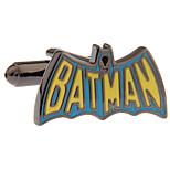 Batman BAT MAN mark French shirt cufflinks cuff nail