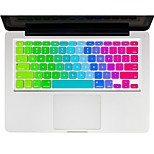 Rainbow Keyboard Cover Silicone Skin  for Macbook  13