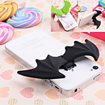 Cheap Lovers Silicone Cute Angel Demon Stand Holder and Winder Universal Phone Case Holder for iPhone 4 5 6 6S Plus