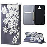 Blooming Flowers Magnetic PU Leather wallet Flip Stand Case cover for Nokia Microsoft Lumia 850
