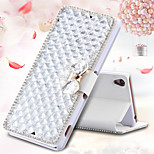 Luxury Bling Crystal & Diamond Leather Flip Bag For Sony Xperia Z3/Z4/C4 (Assorted Colors)
