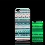 asteca brilho padrão de mandala na tampa traseira de plástico duro escuro para iphone 5 por 5s iphone caso