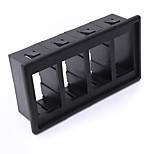 Iztoss 4 Black Plastic Rocker Switch Clip Panel Holder Housing ARB Carling Type