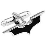 Batman bat cufflinks French shirt cuff nail