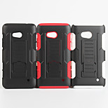2 in 1 design case Hard Plastic Skin+Soft Outer Silicone Case for Microsoft Lumia 640(Assorted Colors)